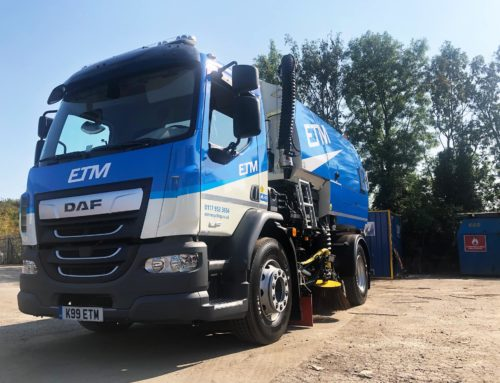 ETM Recycling Offer Road Sweeper Hire